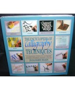 The Encyclopedia of CALLIGRAPHY TECHNIQUES Book 1990 HC DJ - $9.96