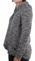 Bench Injection Zip-Up Black White Textured S Hoodie Hooded Cotton Blend Sweater image 3