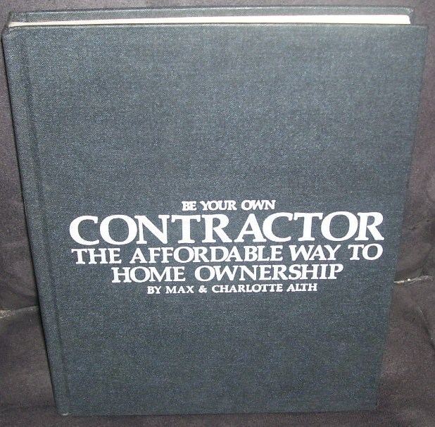 Be your own contractor book