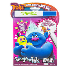 DreamWorks Trolls Imagine Ink Coloring Book - $6.00