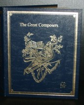FUNK n WAGNALLS- THE GREAT COMPOSERS  book 1966  22 pc collection - $28.00