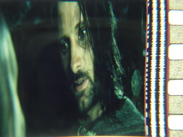 Lord of the Rings 35mm film cell transparency Viggo Slide 3