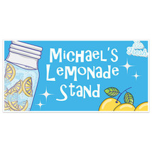 So Fresh Lemonade Stand Sign Personalized Banner - $22.28+