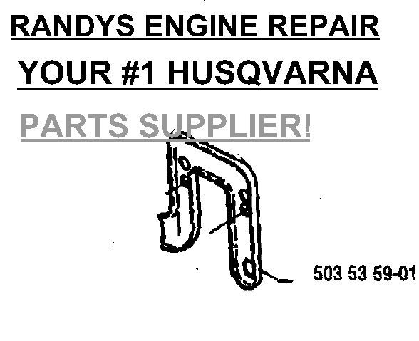 Husqvarna 537287701 537245701 537245801 Cylinder /& Muffler Exhaust Gaskets