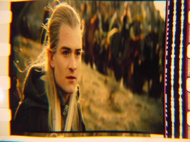 Lord of the Rings 35mm film cell transparency LOTR Slide 7