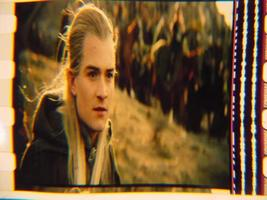 Lord of the Rings 35mm film cell transparency LOTR Slide 7 - $8.00
