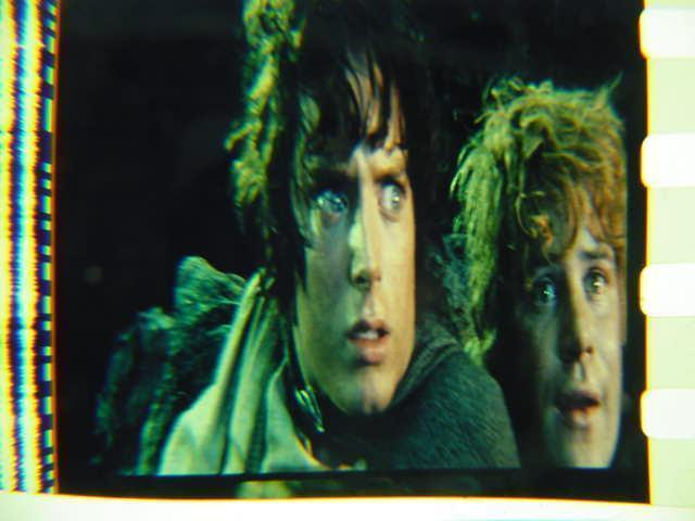 Lord of the Rings 35mm film cell transparency LOTR Slide 1