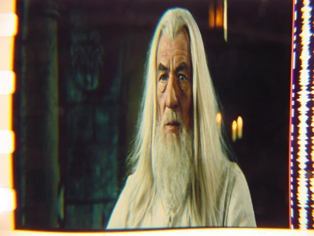 Lord of the Rings 35mm film cell transparency LOTR 3