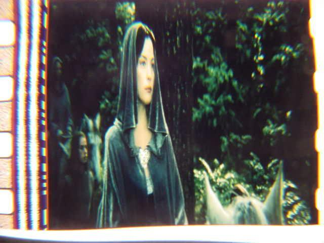 Lord of the Rings 35mm film cell Liv Tyler Slide 2