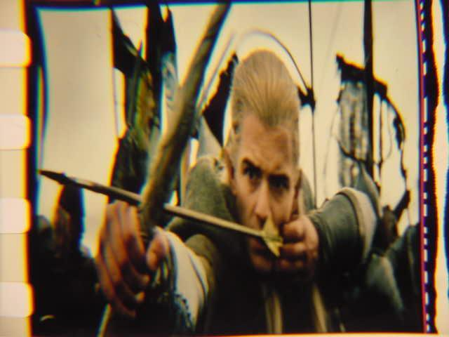 Lord of the Rings 35mm film cell transparency LOTR slide 5