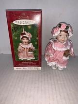 Hallmark Keepsake Ornament MistleToe Miss Set Of 2 #1 In Series 2001 - $7.50