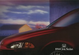 1994 Honda CIVIC SEDAN brochure catalog US 94 DX LX EX - $6.00