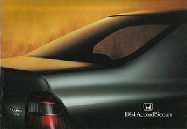 1994 Honda ACCORD SEDAN brochure catalog US 94 DX LX EX - $6.00