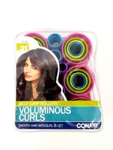 Conair Self-Grip Rollers Voluminous Curls 31pcs. Smooth Hair with Curl & Lift - $14.00