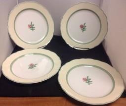 "Wedgwood English Cottage CREAM Set of 4 - 10 3/4"" Dinner Plates - $58.05"