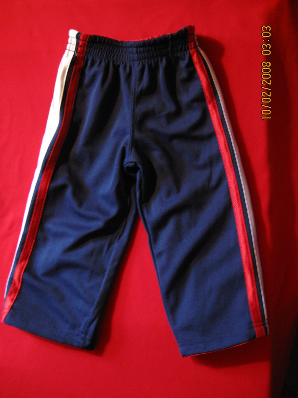 Jacket And Pants Reversible Sports Outfit-Boys-Red-12 Mos.