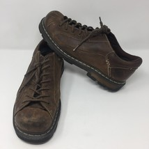 Dr. Martens Mens Brown Leather Oxford Shoes12 US Oxfords DMs Casual Lace Up - $48.70