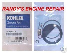 KOHLER Carburetor Repair Kit 25-757-01-S 2575701S Carb Genuine OEM New parts - $16.99