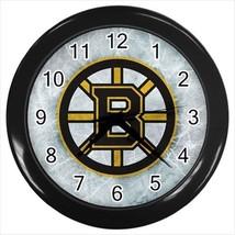 Boston Bruins Wall Clock (Black) - NHL Hockey - $17.41