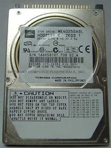 "Toshiba MK4025GASL HDD2195 40GB 2.5"" IDE Drive Free USA Ship Our Drives ... - $9.30"