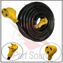 50 ft Foot RV Extension Cord 30 Amp Power Cable for Trailer Camper Motor... - $168.80