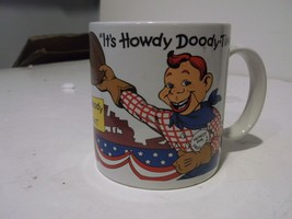 Vintage 1988 It's Howdy Doody Time Howdy Doody For President Ceramic Mug - $12.16