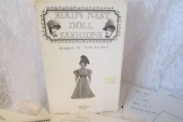 """BIRD'S NEST DOLL FASHIONS Leah Ann Bird """"Delida"""" lw7905 17-18"""" doll - $5.00"""