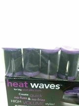 4 COUNT REPLACEMENT JUMBO ROLLERS/ JUMBO CLIPS 12 FOR CONAIR CHV14X HEAT WAVES image 14