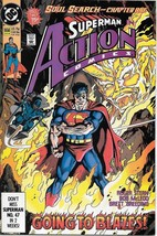 Action Comics Comic Book #656 DC Comics 1990 VERY FINE/NEAR MINT - $2.75