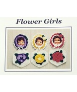 Crochet Pattern FLOWER GIRL POTHOLDERS! Easy/Fun JAO Pattern - $3.99