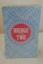 Vintage Gorens Card Deck Bridge for Two Single Deck Replacement 1964 Sealed New - $6.91