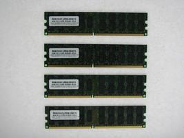 16GB  (4X4GB) DDR2 MEMORY RAM PC2-3200 ECC REG DIMM