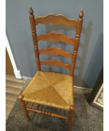 Vintage Tell City Hard Rock Andover Maple Ladderback Chair 2312 #3 - $100.00