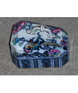 Vintage Bird And Flowers Butter Dish Cover  - $14.97