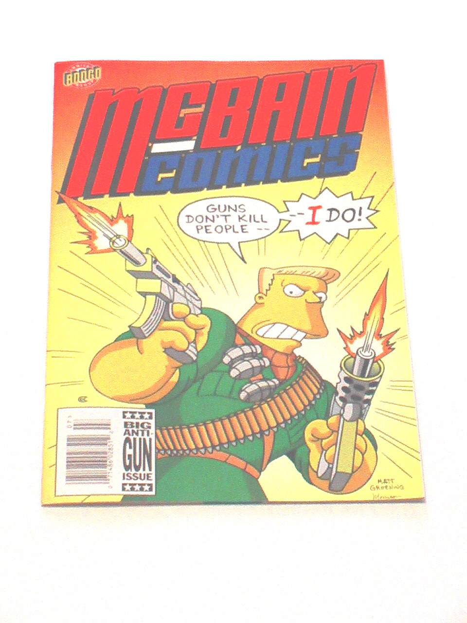 Simpsons Comics - Issue #7, 1994