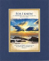 GoodOldSaying  Poem for Inspirations  [For I know the thoughts that I think towa - $11.14