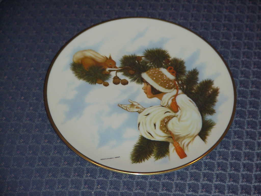 Sarah Stilwell Weber , Seasons Collector Plates , 1977