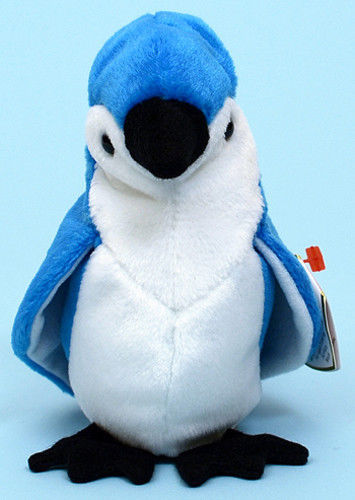 074bf04b485 Retired Ty Beanie Babies Rocket the Blue Jay and 33 similar items. S l1600