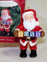 """Hallmark """"Spellin Santa"""" Keepsake Ornament in Box - $6.95"""