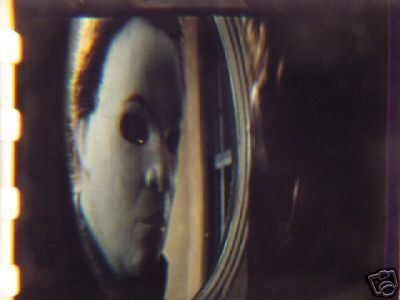 Halloween Michael Myers rare 35mm film cell transparency check1234