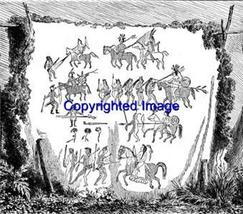 NATIVE AMER TAPESTRY-NEW RELEASE! mounted rubber stamp - $9.00
