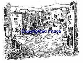 Old West TOWN-NEW Release! Mounted Rubber Stamp - $9.00