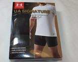 Men's XL Under Armour UA Signature Undershirt Crew Neck 2 Pack t shirt Black 001