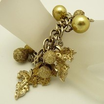 Leaf charm bracelet 5 thumb200