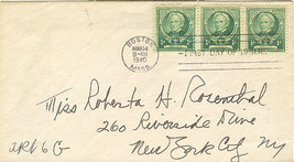 Horace Mann Famous Americans First Day Cover March 14, 1940 - $2.50