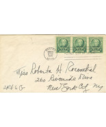 Horace Mann Famous Americans First Day Cover March 14, 1940 - €2,04 EUR