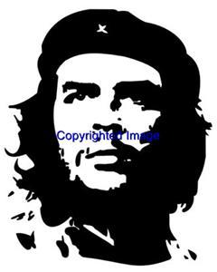CHE GUEVARA-NEW RELEASE! NEW mounted rubber stamp