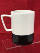 Starbucks Matte Black & Glossy White Large Coffee Mug Cup 16 oz from 2013 - $14.84
