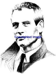 PAUL NEWMAN-NEW RELEASE! NEW WOOD mounted rubber stamp