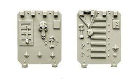 Spellcrow Conversion Bits: Wolves Space Knights Door for Light Vehicles